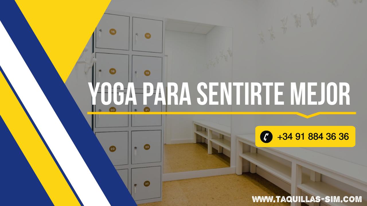 Taquillas para centros de yoga