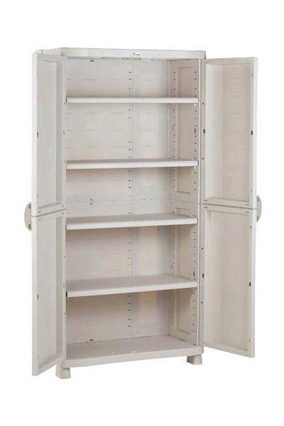 Armarios de resina a medida best armario alto xl de resina with armarios de resina a medida - Armarios pvc carrefour ...