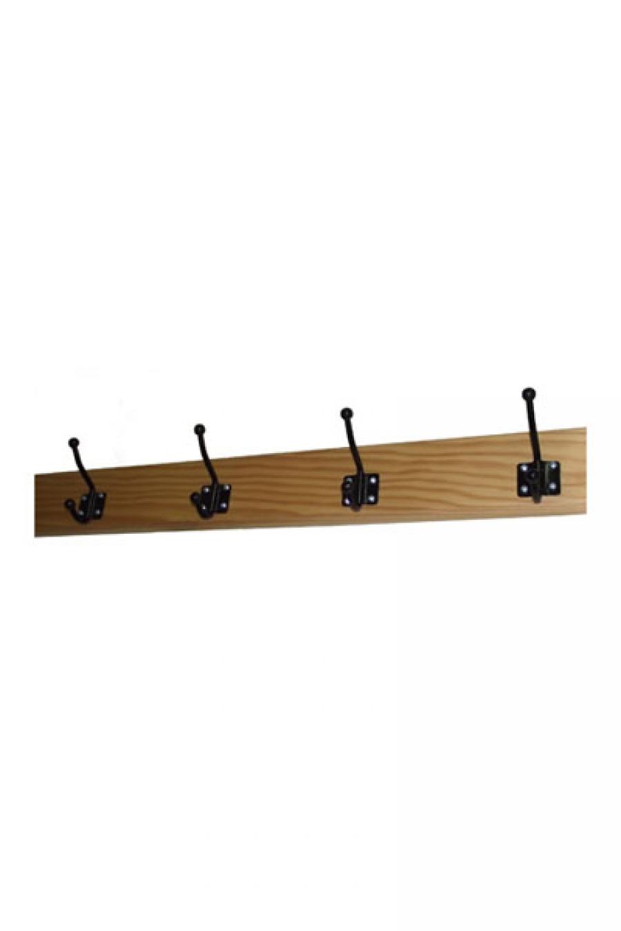Percheros de pared for Percheros en madera