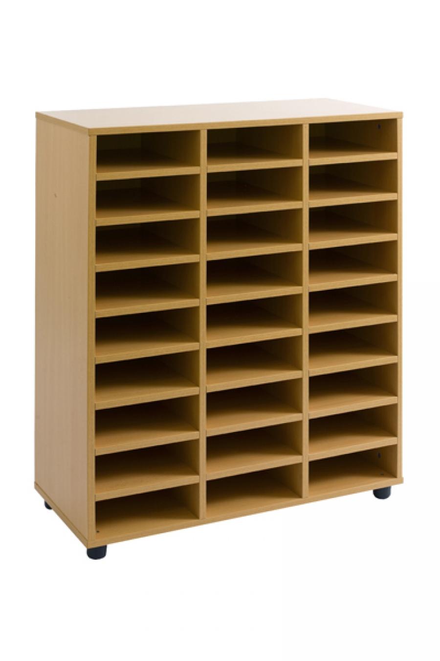 Muebles casilleros for Zapateras de madera sencillas