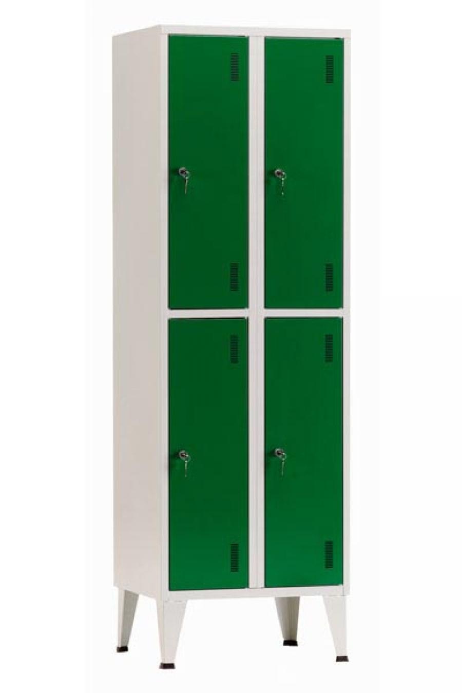 Taquilla de 4 puertas for Precio taquillas vestuarios