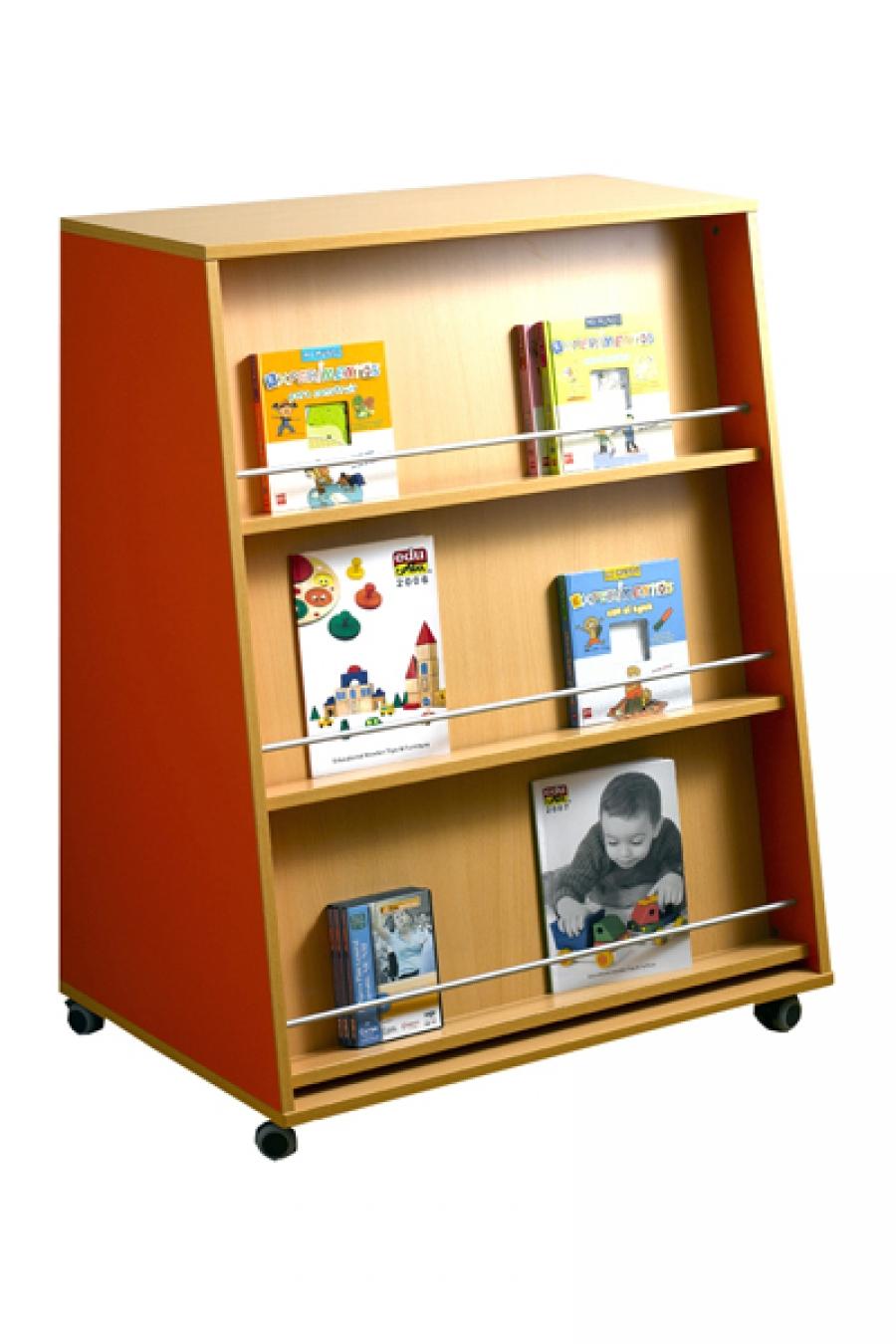 Muebles expositores de libros for Libro de muebles de melamina